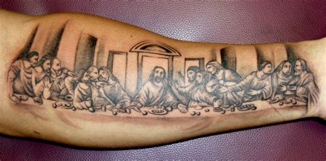 the last supper tattoo design the last supper by onksy on deviantart