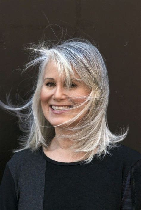grey hair over 50 pdf gorgeous gray hair hairstyles for beautiful women with