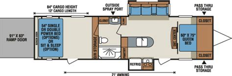 kz hauler floor plans 2016 mxt lightweight travel trailer hauler floorplans