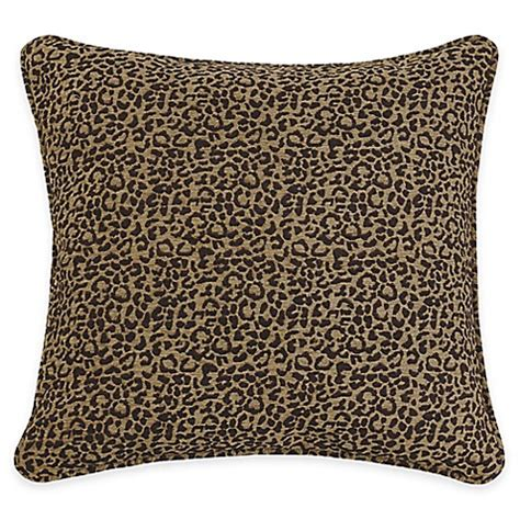 bed bath and beyond san angelo buy hiend accents san angelo leopard european pillow sham