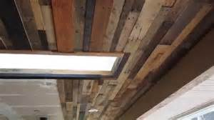 pallet wood ceiling ideas image ideas for a ceiling