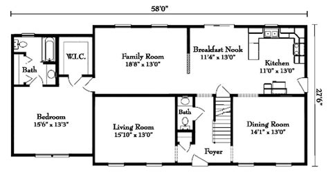Cape Floor Plans Cape Cod Floor Plans Mibhouse