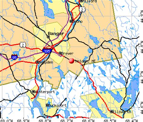 holden maine me 04429 profile population maps real
