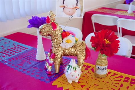 my colorful mexican inspired baby shower