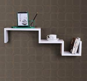 new wood wall display mount book shelf floating cd