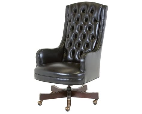 Justice Chairs - classic leather justice swivel chair 1049 st leather