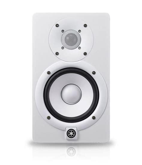 Speaker Yamaha Hs5 yamaha hs5 monitor speaker white finish 45w 25w yamaha