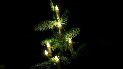 kabellose led lichterkette f 252 r den weihnachtsbaum von
