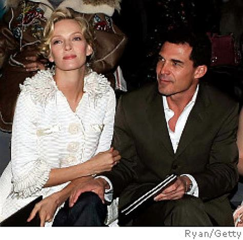 Uma Thurman Confirms Shes Dating Andre Balazs by His Ex Andre And Uma Split Ny Daily News