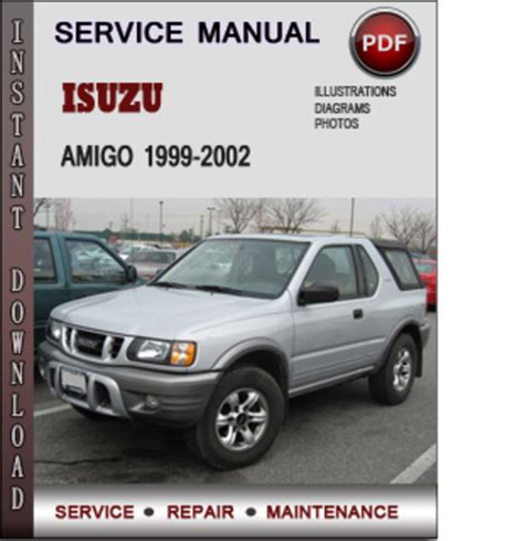 download car manuals pdf free 1993 isuzu amigo parking system isuzu amigo 1999 2002 factory service repair manual download pdf
