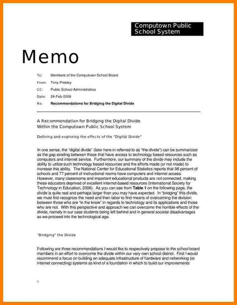 Memo Template To 10 How To Write A Memorandum Report Daily Task Tracker