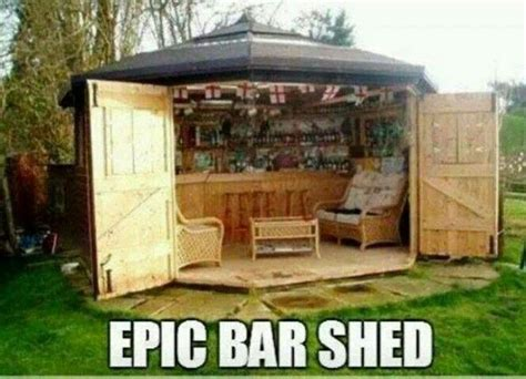 bar shed for the home