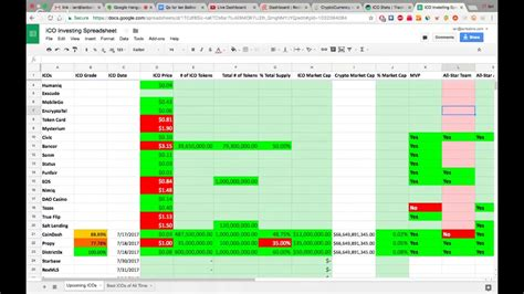 Spreadsheet Live by Lagu Ico Spreadsheet Preview Live