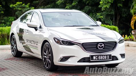 mazda 6 diesel 2016 mazda6 skyactiv d 2 2l launched in malaysia priced