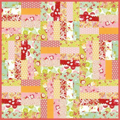 printable jelly roll quilt patterns jelly roll jam with free printable pattern a quilty kind