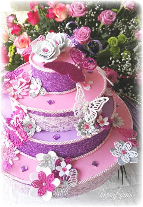 torta fiori e farfalle torta scenografica fiori e farfalle torta battesimo
