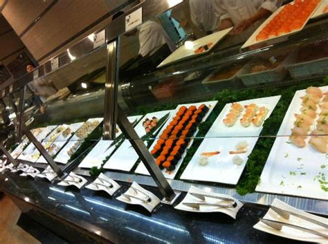 seafood buffets in las vegas sushi selection