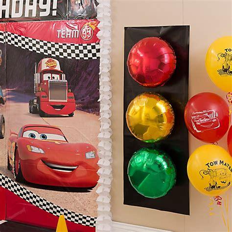 Disney Pixar Cars Baby Shower Decorations by Cars Stoplight Balloons Diy City