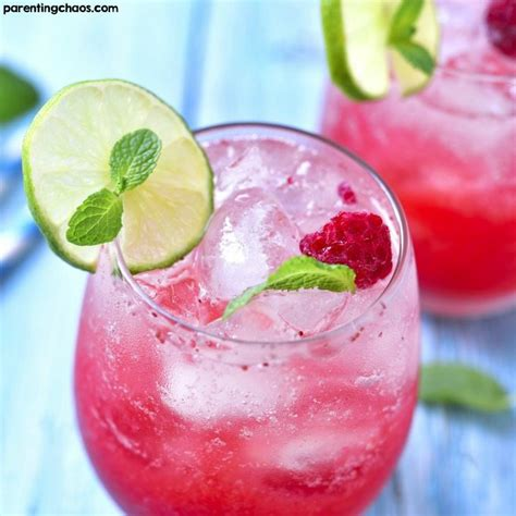 raspberry mojito recipe raspberry mojitos