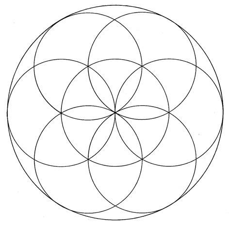 geometric pattern of the universe fatfatsheep flower of life