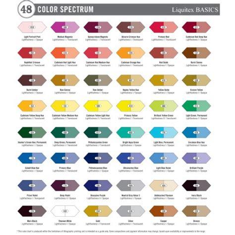 galleon liquitex basics acrylic paints set of 36 colors