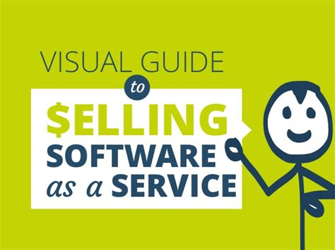A Guide To Software visual guide to selling software as a service by prezly
