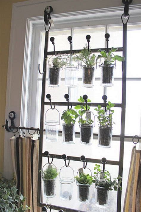 hanging indoor herb garden 25 best ideas about window herb gardens on pinterest