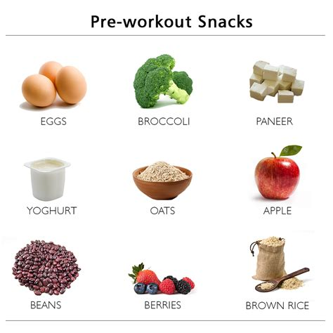 7 Great Pre Workout Snacks by What Does Your Pre Workout Meal Consist Of Health Tips