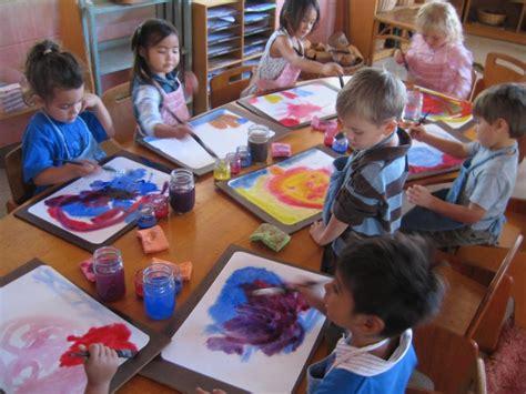 painting kindergarten waldorf inspired summer cs suncoast waldorf school