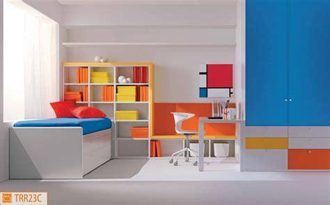 camerette letto cameretta dal design geometrico