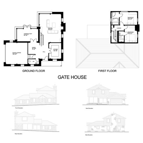 gate house designs gate house plan mibhouse com