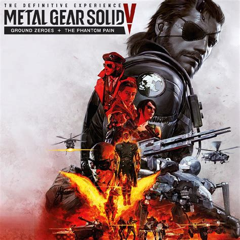 Ps4 Metal Gear Solid V Definitive Experience metal gear solid v the definitive experience فروشگاه گیم شیرینگ