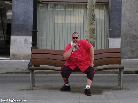 fat lady on bench fat man bending bench pictures freaking news