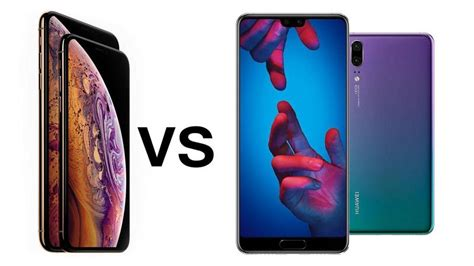 iphone xs vs huawei p20 pro comparison review tech advisor
