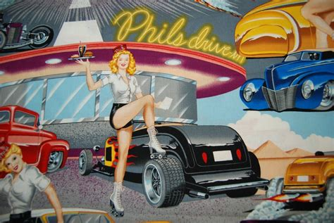 hot car themes sexy car hop phil s diner drive in retro pin up girls cars