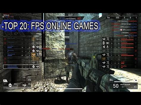 best fps multiplayer top 20 person shooter multiplayer pc