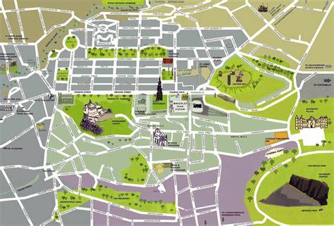 edinburgh mapping the city maps of edinburgh detailed map of edinburgh in english maps of edinburgh united kingdom