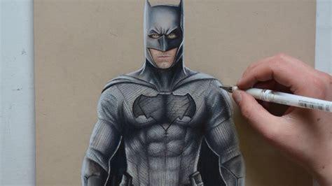 batman tattoo ben affleck drawing batman ben affleck nimauke youtube