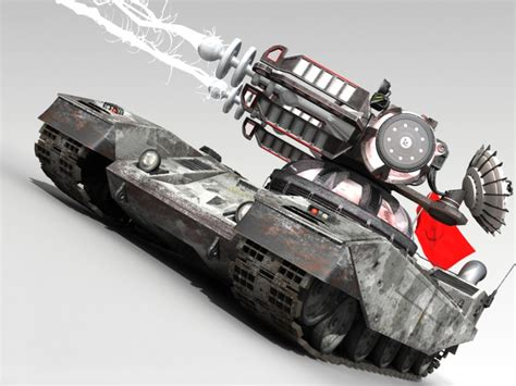 Tesla Tank Tesla Tank Ra2 Image C C Paradise Mod Db