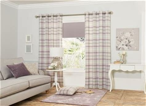 Bedroom Curtains Mauve Buy Mauve Woven Check Eyelet Curtains From The Next Uk