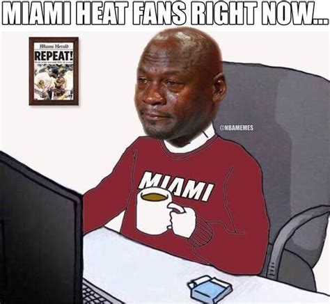 miami heat fans right now http nbafunnymeme com nba