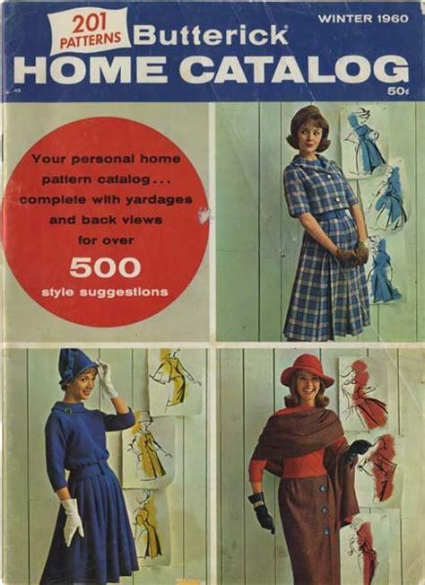 Sewing Pattern Catalogs | butterick catalog winter 1960 my vintage butterick