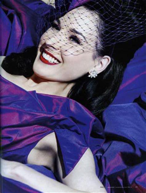 Or Fabulous Dita Teeses Purple Vivienne Westwood Wedding Dress by Dita Teese Wedding The Gloss Of The Highly