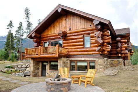 Home Decor Denver Co western red cedar ranch style log home rustic exterior
