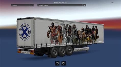 marvel trailer marvel superheroes v1 0 trailers pack ets2 truck