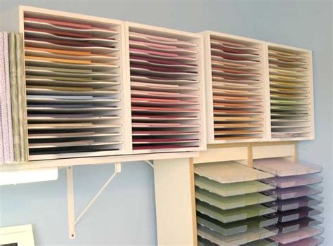 12x12 Craft Paper Storage - 12x12 paper storage images hobby space ideas