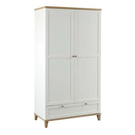White Wardrobe by Boston Lyon Wardrobe White Ash 2 Door