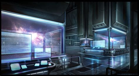 blue room ufo laboratory by sebastianwagner on deviantart
