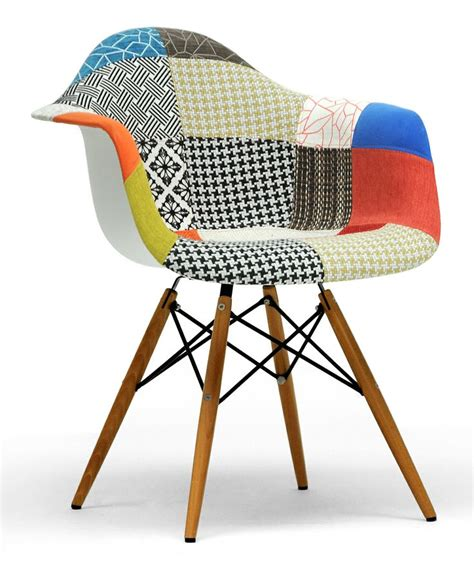 Patchwork Dining Chairs - patchwork lia mid century dining chair inspiration