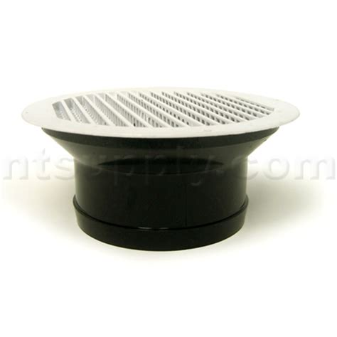 soffit bathroom vent buy white plastic undereve soffit bath fan vent lambro